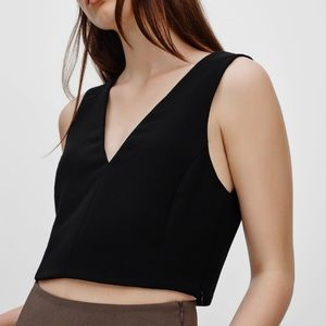 Aritzia Wilfred Dauphine Crop Top